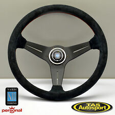 Nardi Steering Wheel DEEP CORN SUEDE Dish 350mm Drift Race Rally 6069.35.2094
