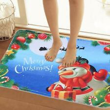 New Christmas Decoration Doormat Floor Non Slip Rug Christmas Snowman Mats