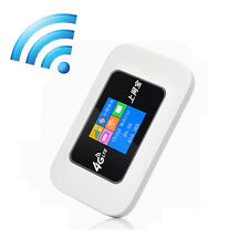 Outdoor Travel 4G Wireless Router Mobile Wifi Hotspot 2100mAh Battery SIM Slot