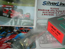 SilverLine Tameo 1:43 KIT SLK 009 Brabham Alfa Romeo BT45B Austrian GP 1977 NEW