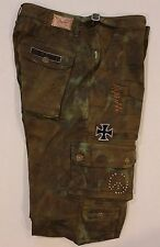 New Men ROBIN'S JEAN sz 40 Style #SP5138 Military Camo Cargo Pant Rivets US ARMY