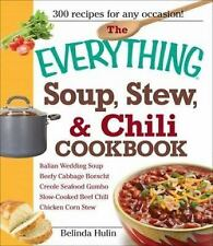 The Everything Soup, Stew, and Chili Cookbook - Hulin, Belinda - Paperback