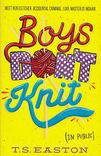 Boys Don't Knit BRAND NEW BOOK by Tom Easton (Paperback, 2014)