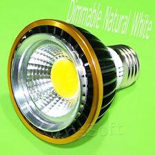E27/E26 PAR20 LED COB Spot Light Bulb 15WATTS/4000K Dimmable Soft Natural White