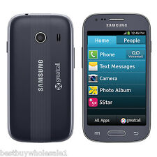 Samsung Jitterbug Touch3 No-Contract Gray Touch Easy to Use Senior Cell Phone