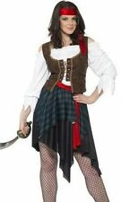 new Smiffy's Women's Pirate Buccaneer Beauty Costume (X1) uk 20-22