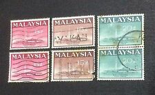 Malaysia 1965 National Mosque KL Complete Set 3v x 2set (1pc 15c Fault) Used