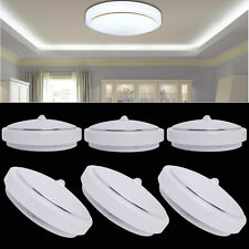 12W PIR LED SMDs Flush Mounted Ceiling Light Sensor Downlight White Lamp Round
