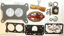 Holley 2300 2 Barrel Carburetor Rebuild Kit 500 CFM 4412 NEW BRASS FLOAT 15879