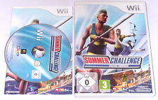 "NINTENDO WII SPIEL"" SUMMER CHALLENGE Athletics Tournament "" KOMPLETT"