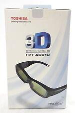 Toshiba FPT-AG01U 3D Glasses Black BRAND NEW