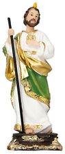 SAINT JUDE 130mm STATUE - CANDLES CRUCIFIXES AND PICTURES ARE ALSO LISTED 948