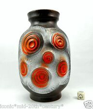 Bay Fat Lava Era Vase West German Pottery Mid Century Modern Pop Art Space Age
