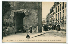 Le Porche of the Old Fortified City Ville Nantes France 1910c postcard