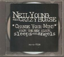 "Neil young and Crazy Horse ""change your mind"" promo cd rare"