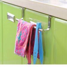 H1 StainleH1 Steel Towel Bar Holder Over the Kitchen Cabinet Cupboard Door