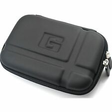 Black 5.2 Inch Hard GPS Carrying Case Cover for Garmin Nuvi 5000 1490T 1450 55lm
