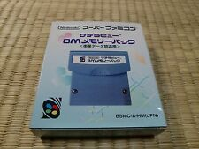 SUPER FAMICOM SFC Satellaview 8M MEMORY PACK BSMC-A-HM(JPN)  unused