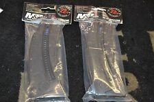 PAIR of Smith & Wesson M&P15-22 .22LR 10rd Black Polymer Magazines