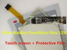 Allen Bradly Plus1250 2711P-T12C10D6 2711P-T12C10D8 Touch screen+Protective Film