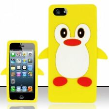For Iphone 5 (At&t/sprint/verizon/cricket) Funny Penguin Silicon Case