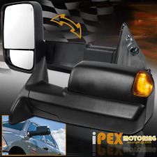 2013-2015 Dodge Ram 1500 2500 HEAT/ LED Signals / Puddle Light Power Tow Mirrors