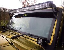 Jeep Wrangler Jk 52'' Led Light Bar Brackets,
