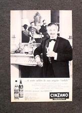 [GCG] M760 - Advertising Pubblicità - 1962 - CINZANO VERMOUTH , ORIGINE NOBILE