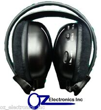 Headphones Infrared (IR) wireless car compatible with clarion roof dvd player