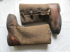 German AUTHENTIC WINTER OVER-BOOTS WW2