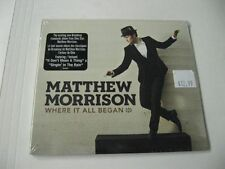 Matthew Morrison where it all began digipak - CD Compact Disc