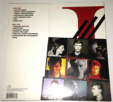"David Bowie iSelect LP 2015 rare French exhibit ""Bowie is"" Red Vinyl New Sealed"