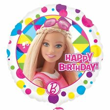 Barbie Sparkle Happy Birthday Standard Foil Balloons Birthday Party Decoration