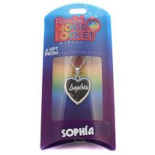 Personalised Mood Locket Necklace - SOPHIA