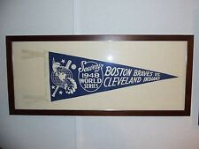 Extremely Rare - Boston Braves/Cleveland Indians 1948 World Series Pennant