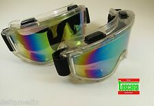 Protection Glasses Medical Dental Lab Safety Goggles Kit /2 Rainbow TOSCANA