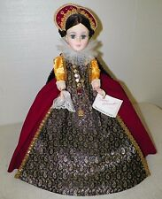 """MADAME ALEXANDER 21"""" MARY QUEEN OF SCOTS DOLL STAND HANG TAG NO BOX GOOD"""