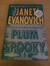 Plum Spooky No. 4 by Janet Evanovich (2009) LARGE PRINT Softcover