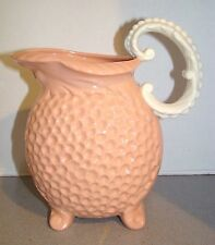Vintage Lenox Pink Pitcher Jug w/ Face Mask Spout