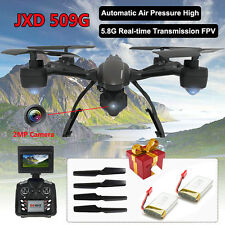 JXD 509G 5.8GHz FPV Drone 4CH 2.0MP Camera  RC Quadcoptr Helicopter with battery
