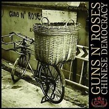 Guns N' Roses Chinese Democracy CD NEW 2008 Heavy Metal Street Of Dreams/Better+