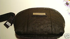 NEW GENUINE  LOUEN HIDE SCARLETT COSMETIC CASE  # OLIVE RRP $39.99