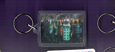 Doctor Who - Daleks - Cybermen  - Plastic Key Ring / Key Fob