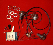 Guitar Parts STRATOCASTER WIRING HARNESS KIT 1 Vol 2 Tone 5Way Switch Mono Jack
