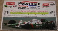 2009 Tony Kanaan Bryant Racing Indy 500 Indy Car copy paper handout