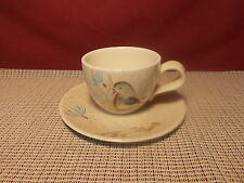 Vintage Red Wing China Bob White Pattern Cup & Saucer Set