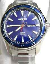 Seiko Mens Solar Watch SNE391P1, Warranty, Box