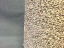 Filati di qualità CONO Single Ply Biancheria colore naturale 1000g 20 Palle