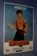 Original Bruce Lee ENTER THE DRAGON Rare Turkey Movie Theatre Art Style 1 Sheet