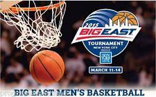 2015 BIG EAST MEN'S COLLEGE BASKETBALL PROGRAM FINAL FOUR SHIPS 3/25 LIMITED!!